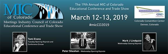 MIC of Colorado – March 12 – 13